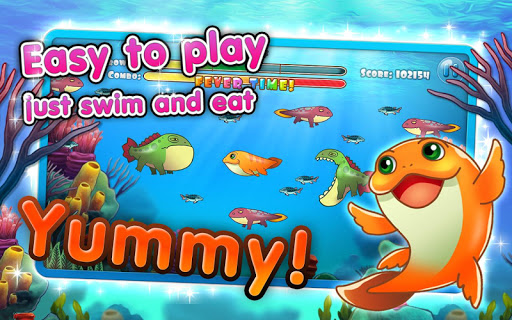 Coco the fish cute fish game for android for Gold fish game