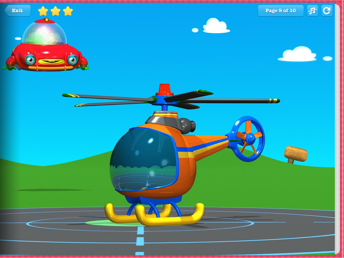TuTiTu Helicopter- screenshot