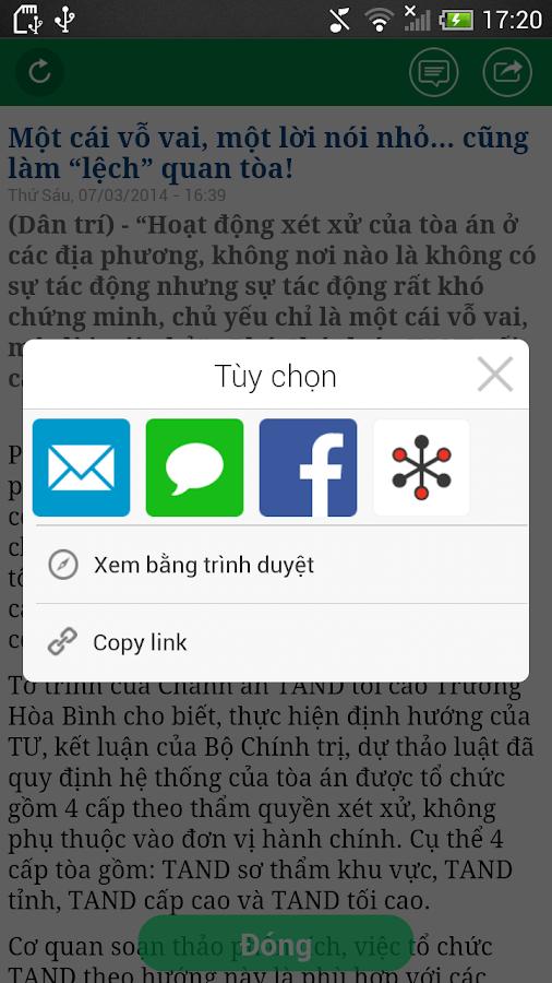 Dân Trí- screenshot