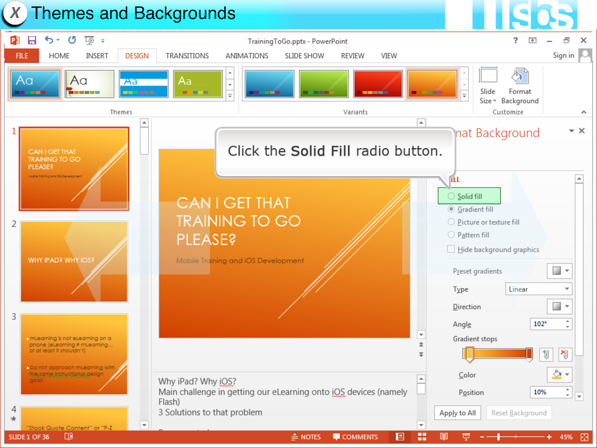 EasyGuides for PowerPoint 2013- screenshot