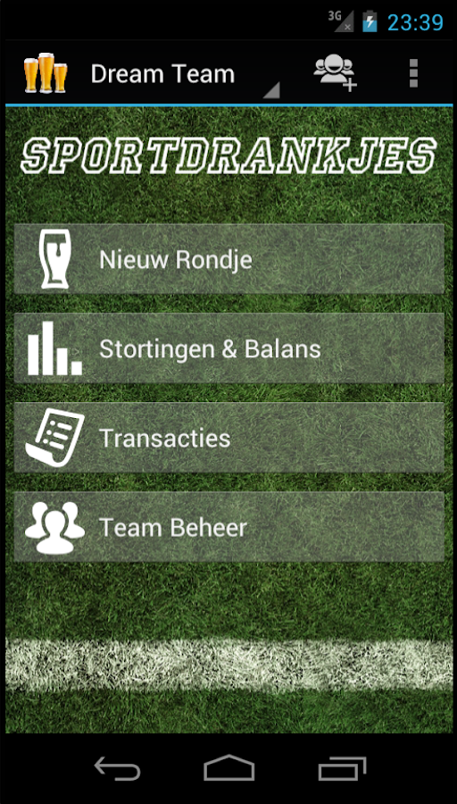 Sports Drinks - screenshot