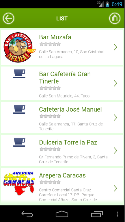 Tenerife y Restaurantes- screenshot
