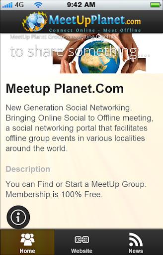 MEETUP PLANET.COM