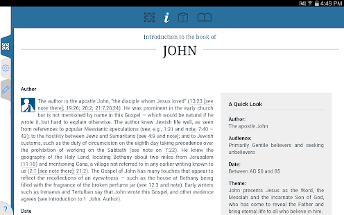 NIV Study Bible by Zondervan - screenshot thumbnail