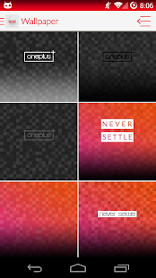 OnePlus One Launcher Theme - screenshot thumbnail