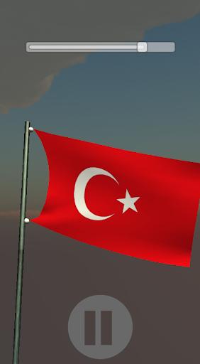 Türk Bayrağı 3D