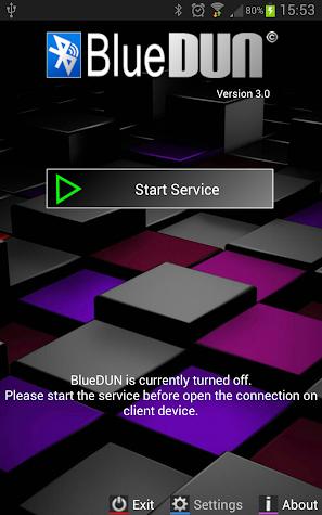 BlueDUN Screenshot