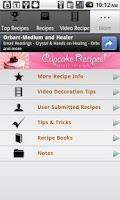 Screenshot of Cupcake Recipes!!