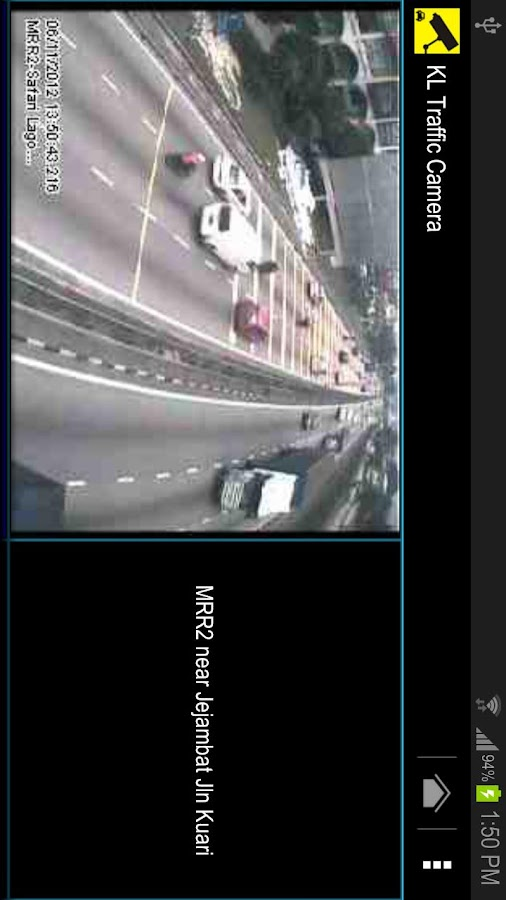 KL Traffic Camera- screenshot