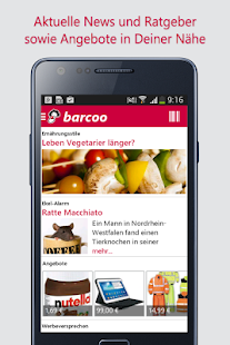 Barcode & QR Scanner barcoo - screenshot thumbnail