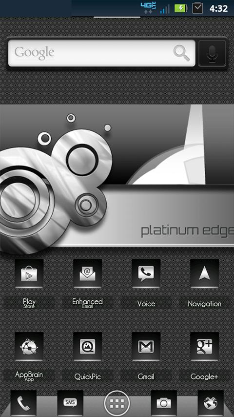 ADW Theme | PlatinumEdge - screenshot
