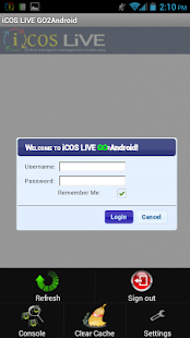 iCOS LIVE GO2Android- screenshot thumbnail