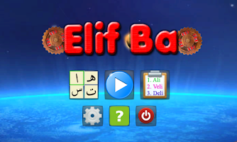 Screenshot of Elif Ba @ Space Rescue Letters