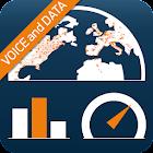 Traffic Monitor+ & 3G/4G Speed icon