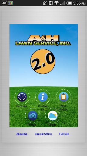 A&H Lawn Service, Inc. 2015 2.0 screenshots 1