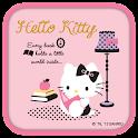 Hello Kitty Reading Book Theme