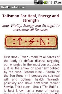 Healing Talisman Widget - screenshot thumbnail