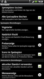 Mensaplan lite- screenshot thumbnail