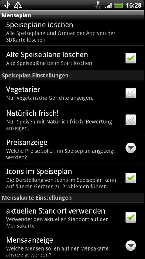 Mensaplan lite- screenshot