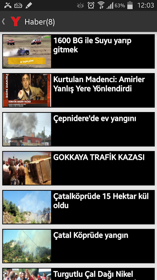Turgutlu Yankı- screenshot