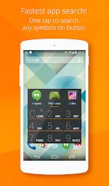 AppDialer Pro–fast app search Screenshot 1
