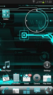 CYANOGEN GO Launcher EX Theme - screenshot thumbnail