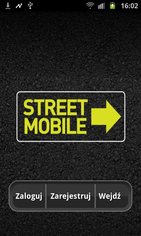 StreetMobile – zrzut ekranu