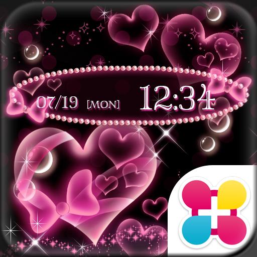 Bubble Hearts Wallpaper Theme Icon