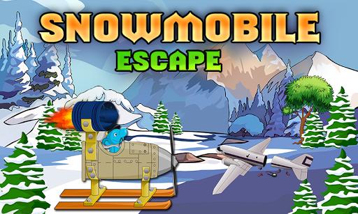 454-Snowmobile Escape