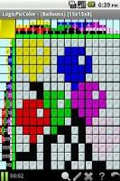Screenshot of LogicPicColor:  PuzzlePack1