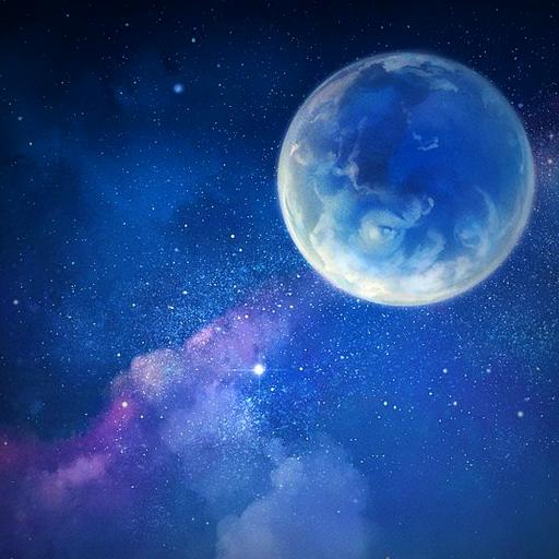 月明かりライブ壁紙 個人化 LOGO-玩APPs