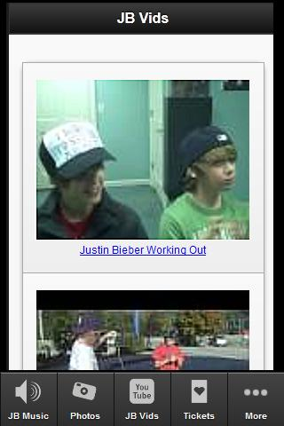 Justin Bieber Fan MOB - screenshot