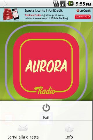 Radio Aurora- screenshot