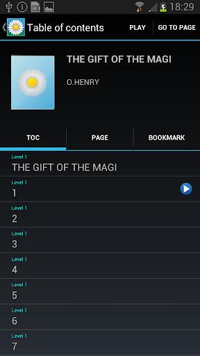 無料书籍AppのVoice of DAISY 記事Game