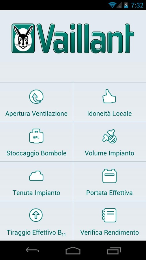 Suite Vaillant Installatori - screenshot