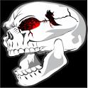 Splatter Skull Live Wallpaper icon