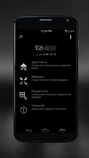 Black Tags - Icon Pack