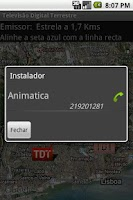 Screenshot of Emissores TDT (DVB-T)