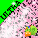 Ultra Cute Pink Cheetah Theme icon