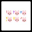 メール素材 - うさぎ01(記号) icon