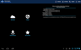 Screenshot of Malwarebytes Secure Backup