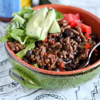 Taco Turkey & Black Bean Rice Bowls