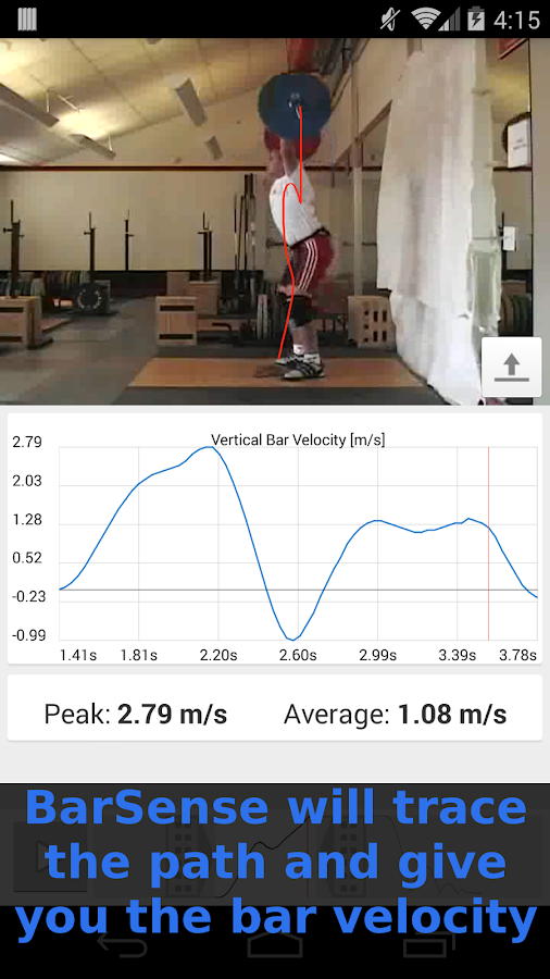 BarSense Weight Lifting Log- screenshot