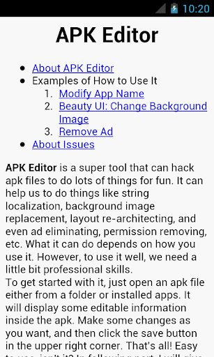 APK Editor Pro  screenshots 8