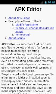 APK Editor Pro Screenshot