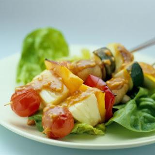 Satay Vegetable Kebabs
