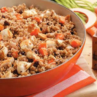 Chicken Bulgur Skillet
