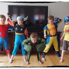 Léo la peste by Jonguy Demontigny - Digital Art People ( kids, group, costume play )