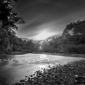 Ngarai SIanok by Adi Krishna - Black & White Landscapes
