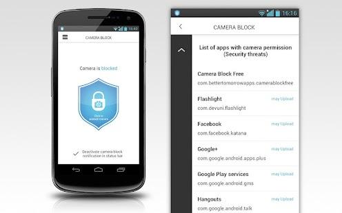 Camera Block - Spyware protect - screenshot thumbnail